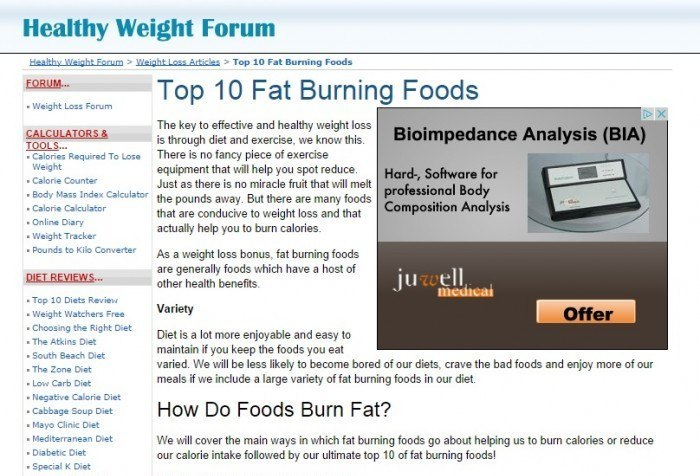 Image of Healthy Weight Forum