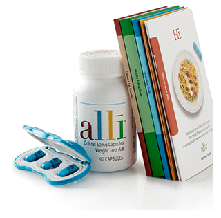 Dietary Pills Alli Package