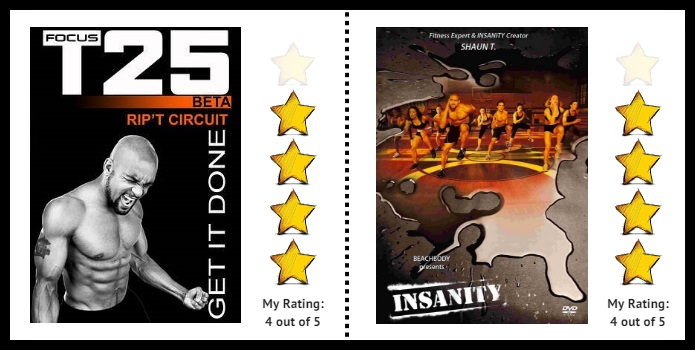 focus t25 vs insanity