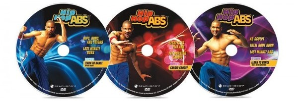 3 Main Hip Hop Abs DVDs