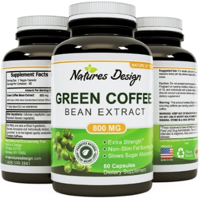 Natures Design Green coffee beans extract