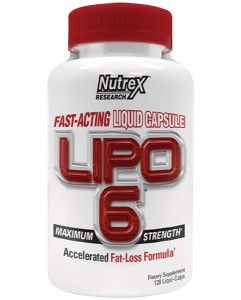 LIPO-6 Bottle By Nutrex