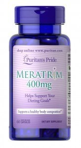 Puritan´s Pride bottle of meratrim
