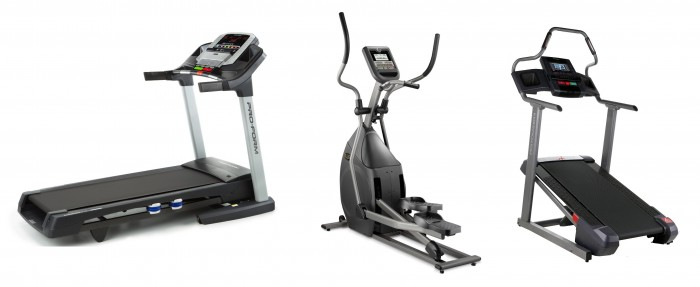 Three-Different-Exercise-Machines