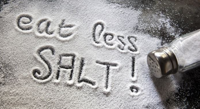 less salt for dash diet
