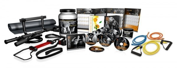 Stuff-From-Ultimate-P90X3-Kit-All-Together