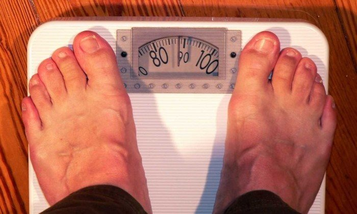 horizontal weight measuring
