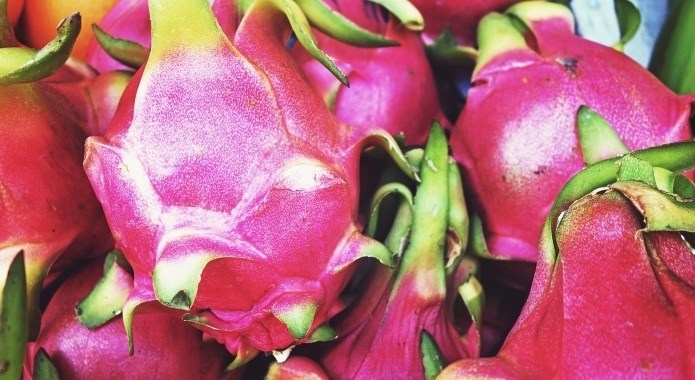 ripe dragon fruit