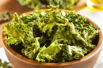 Awesome Kale Chips For Salty Snack