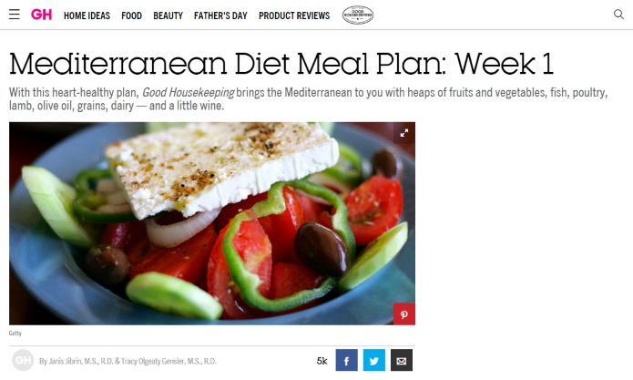 MD meal plan
