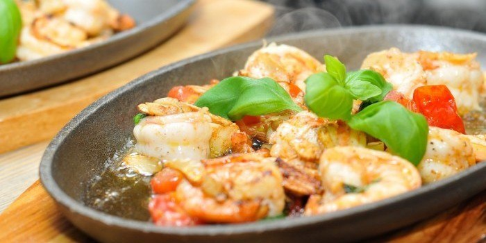meal from shrimps