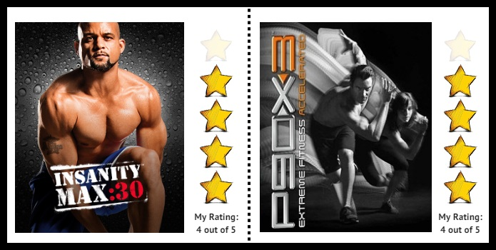 insanity max30 vs p90x3