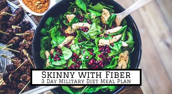 mealplan for 3 day diet