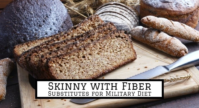 substitutions for military diet