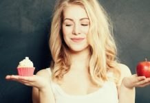 woman thinking about easy diet