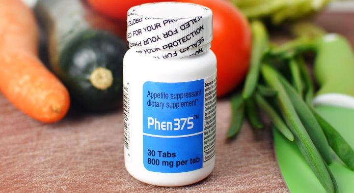 phen375 on a table
