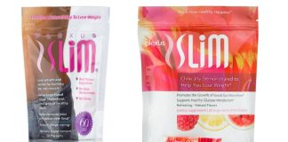 Plexus Slim new and old