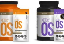 keto OS pruvit products